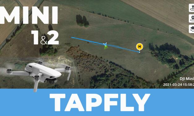 Comment faire un TAPFLY avec la fonction RTH du DJI MINI (1et2)