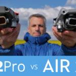 Comparatif DJI AIR 2 S face au Mavic 2 Pro