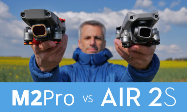 Comparatif DJI AIR 2 S face au Mavic 2 Pro