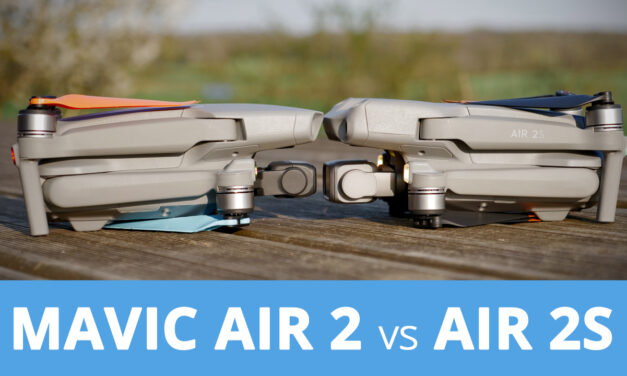 Comparatif entre le DJI AIR 2S et le Mavic Air 2