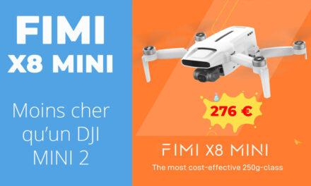 Prix de lancement sur le FIMI X8 MINI chez Aliexpress
