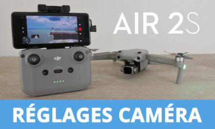 Les meilleurs réglages caméra pour un rendu cinéma avec le DJI AIR 2S