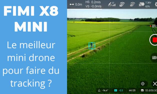 FIMI X8 MINI : Comparatif en mode suivi et tracking comparé au MAVIC MINI avec LITCHI