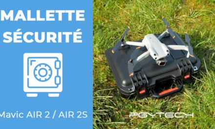 Mallette de sécurité pour drone DJI Mavic Air 2 et AIR 2S + Accessoires PGYTECH