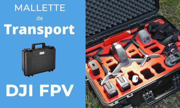 Mallette de transport pour le DJI FPV : MC-CASES Explorer Edition