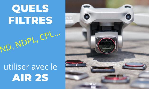 Quels filtres ND choisir pour son drone DJI AIR 2S ?