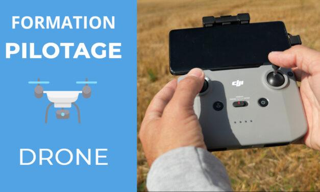 Formation au pilotage de drone