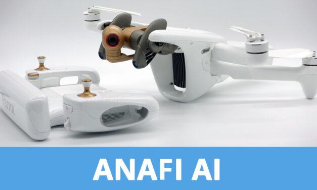 PARROT annonce un nouveau drone : L'ANAFI AI