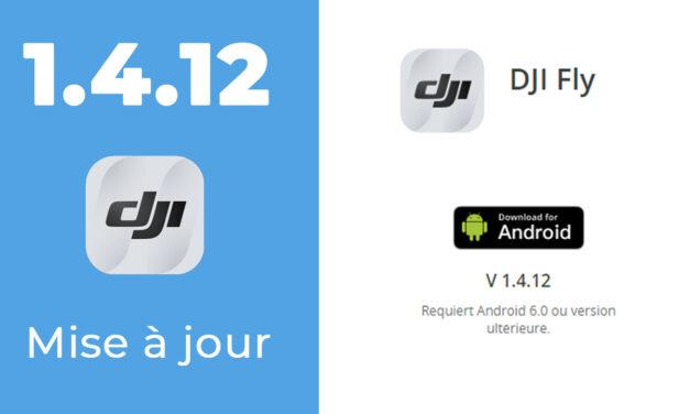 DJI FLY 1.4.12 : Nouvelles fonctions… Et nouveaux bugs !